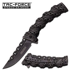 "8"" TAC FORCE SPRING ASSISTED FOLDING KNIFE Blade pocket open switch"