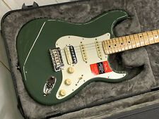 Fender American Professional Stratocaster HSS MN Antique Olive OPEN Unplayed w/c