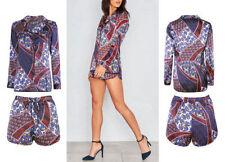Unbranded Satin Regular Collar Dresses for Women