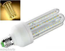 Bombilla E27 Tubular 4U 104 LED 16W Luz Calida 3000k 1440 Lumens BAJO CONSUMO