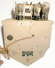 vintage GLORITONE * tube RADIO CHASSIS from SCREEN GRID MODEL 27P - sold as is