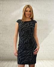 Petite Crew Neck Wrap Dresses for Women