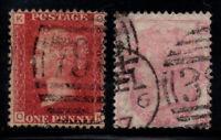 Großbritannien 1858-1965 Mi. 16,23 Gestempelt 40% Queen Victoria