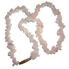 Collana splitter con pietre di Quarzo rosa chiaro 45 cm rosa chiaro bigiotteria
