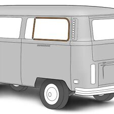 VW TYPE 2 BUS 1955-1967 CAMPER LOUVERED SIDE WINDOW SEALS NON WESTFALIA CAMPERS