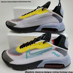 Nike Air Max 2090 Trainers Casual Sneakers 90s White UK 10 EU 45 RRP £130