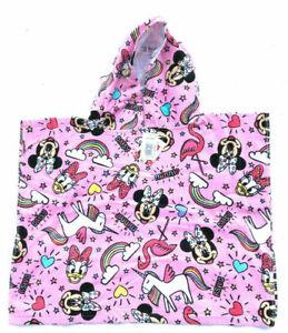 Disney  poncho -MINNIE MOUSE UNICORN PINK KIDS CHILDREN GIRLS PONCHO
