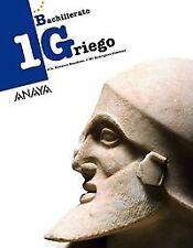 (15).GRIEGO 1º.BACH.. NUEVO. Nacional URGENTE/Internac. económico. LIBRO DE TEXT
