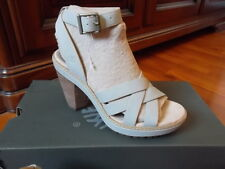 TIMBERLAND uk  5 us 7 eu 38 CHAUNCEY SANDALS WOMENS ANKLE BEIGE SUEDE NEW SHOES