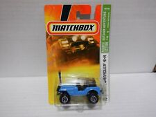 Matchbox Ready For Action OUTDOOR ADVENTURE Jeep Wrangler 4x4 #82 7/12 011921MGL