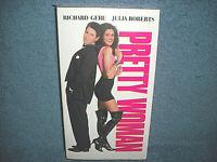 PRETTY WOMAN - VHS - 1990 - RICHARD GERE - JULIA ROBERTS - BRAND NEW SEALED