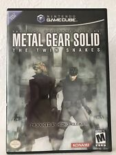 Metal Gear Solid: The Twin Snakes Nintendo Gamecube XLNT Complete Ships Fast!!!