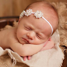 Baby Girl Kids Toddler Cute Elastic Rhinestone Head Band Headband Headdress