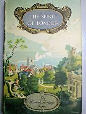 Book: The Spirit of London - Cohan Portheim - Batsford - Third Ed. 1950