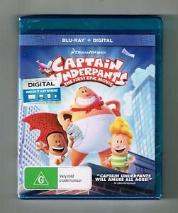 Captain Underpants Blu-ray - Brand New & Sealed