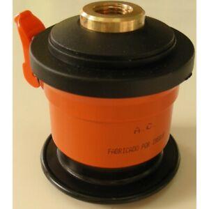 Adaptador regulador Repsol y Campsa gas butano estándar a rosca de botella azul