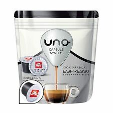16 PODS UNO CAPSULES SYSTEM ILLY ESPRESSO DARK ARABICA ORIGINALS BREAK SHOP