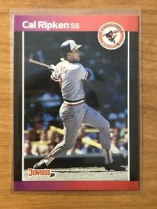 GREAT DEAL!!  1989 Donruss #51 Cal Ripken Jr Error - No Period After INC - GEM?