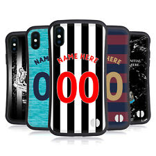 CUSTOM PERSONALISED NUFC CREST 1 HYBRID CASE FOR APPLE iPHONES PHONES