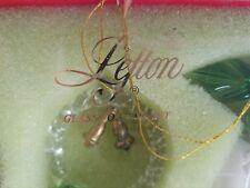 Vintage Lefton Glass Christmas Tree Ornaments Box of 6