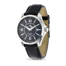 Orologio Philip Watch Blaze R8251165001 uomo watch pelle Nera datario swiss made