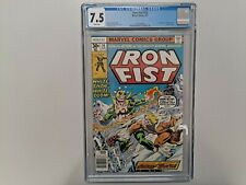 Iron Fist #14  Marvel Comics August 1977 - 1st Sabretooth!  CGC 7.5 White Pages