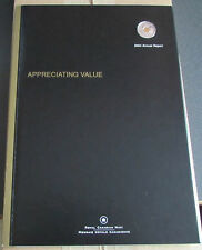 Canada 2004  Annual Report RCM Royal Canadiam Mint  25 Cent Gold Plated Poppy