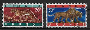 Ruanda-Urundi - 1961 - COB 216A/B - Used -