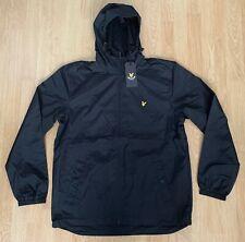Lyle & Scott Vintage Mens Zip Through Hooded Jacket Black Large BNWT RRP £89.99
