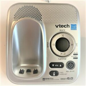 VTECH PHONE BASE ONLY ANSWERING MACHINE WITH VOICEMAIL WAITING ROOM HOME OFFICE