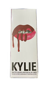 New Kylie Jenner Lip Kit Matte Liquid Lipstick and Liner True Brown K