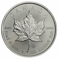 2020 Canada 1 oz Silver Maple Leaf $5 Coin GEM BU Delay SKU59990