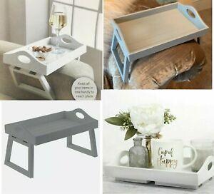 WOODEN ARM CHAIR TRAY SOFA ARM REST REMOTE ORGANISER SERVING TRAY STORAGE TRAY