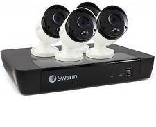 Swann Nvr8-7580 - 8 CH 5.0mp Thermal Sensing IP CCTV Kit 4x Nhd-865msb Cam *