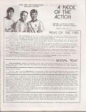 Star Trek TOS Fanzine A Piece of the Action 48,49,51,52,53,56,57,58,59,68,85,89