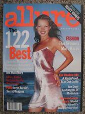 ALLURE 10/1999 Kate MOSS Madonna Amy Lemons Colette Pechekhonova Leilani Bishop