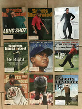 New listing 30 Golf Sports Illustrated Covers Nicklaus 1972 - Watson 1977 - Faldo1989 -Tiger