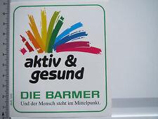 Aufkleber Sticker Barmer - Krankenkasse (5398)