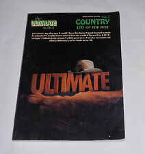 The Ultimate Series Country 100 of the Best Song Book Volume 2 Piano/Vocal/Guita
