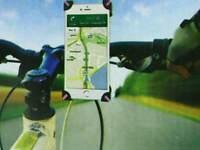Supporto Smartphone Callulare Bici Bicicletta Moto Manubrio Universale Porta