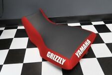 Yamaha Grizzly 660 Red Sides Logo Seat Cover #yz88kya88