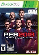 Pro Evolution Soccer PES 2018 (Microsoft Xbox 360, 2017)