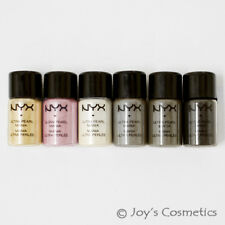 "6 NYX Loose Pearl Eyeshadow Pigment Set ""Smokey""  *Joy's cosmetics*"