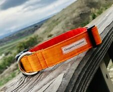 """Sunset Ombre Dog Collar 1"""" Side Release Buckle Medium (fits 12""""-19"""")"""