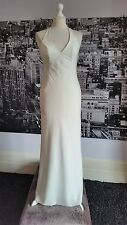 Dawn Stretton Halterneck Dress (Ivory- Size10)Wedding,Prom,Ball,Pageant,RRP £180