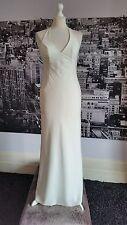 Dawn Stretton Halterneck Dress (Ivory- Size14)Wedding,Prom,Ball,Pageant,RRP £180
