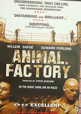 William Defoe  Edward Furlong ANIMAL FACTORY(2000)Original video release poster