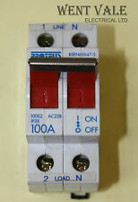 Proteus 100S2 - 100a Double Pole AC22B Switch Disconnector Used