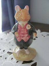 Royal Doulton Rusty Dogwood Brambly Hedge Collection 1982 Figurine