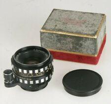 "A.Schacht Ulm S-Travegon 2,8/35mm R #296350 Objektiv (Exa Bajonett) ""Zebra"""